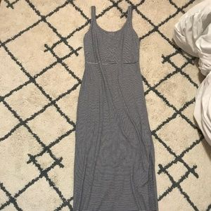 Gap Striped Maxi Dress With Split!